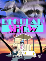 Regular show Miami Vice by lafayettewright
