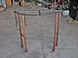 Demi-Lune Console Table by ou8nrtist2