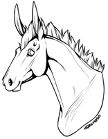 Prize lineart by horsy1050