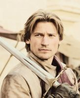 Jaime Lannister Painting by Atavius