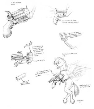 Pegasi Leg gun design by Baron-Engel