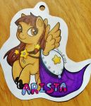 Arista Gala Pony Badge by Sparkle-And-Sunshine
