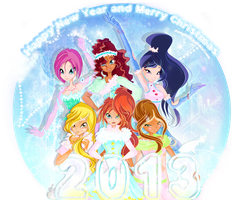 Happy new year by Dashyl4i4ik