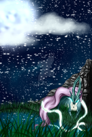 Moonlight night - Suicune by Alice1231
