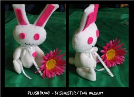 Sample Plush Bunny by sengster