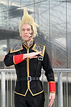Zell Dincht cosplay, SeeD uniform #4 by Alexcloudsquall