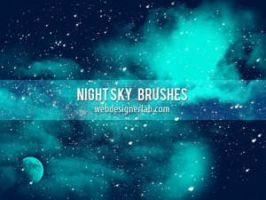 NIGHT SKY FREE BRUSHES by psbrushadobe