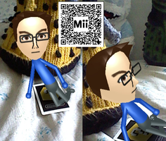 10th Doctor Mii by thenextdoctor42
