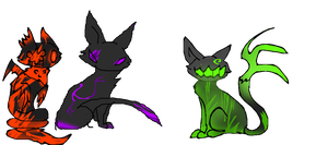 Some colors of ampts :P //empts by Moracalle