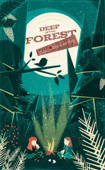 DEEP IN THE FOREST, Poster by schwarzpixel
