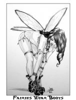 Fairies Wear Boots By DW Miller by ConceptsByMiller