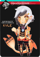 [ Custom Outfit / OPEN ] Kitchaaan by PrinceProcrastinate