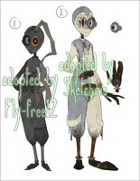 a couple Acropunk adoptables [details in desc.] by Acrosanti