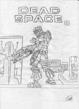 dead space 3 isaac clarke by themarkerkiller