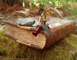Book Fairy by CandyFlavoredTears