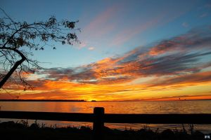 Fall Sunset Series #49 by LifeThroughALens84