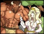 Commission: Valeria and Minotaur (preview) by Mad-projectNSFW