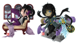 C - Detrich and Darin chibi by zero081090