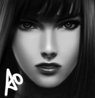 A0 Lady Sio by borjen-art