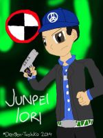 Never Fear, Junpei's Here by Dengen-Toshiko