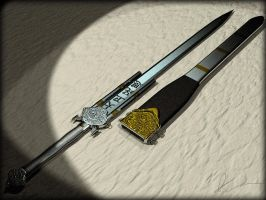 Phoenix Steel Straight Sword by weaponry-guild