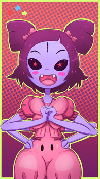 Another Muffet - Undertale by Raveant