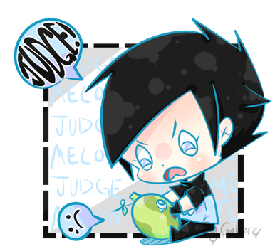 Aiden Judging JeffMelon by Cy-sama