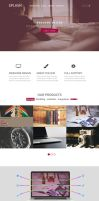 web design ( PSD file download available ) by amrelarabi