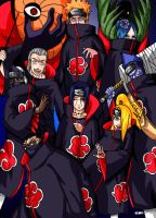 All Akatsuki members by 6LM9