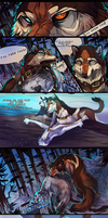 Denali vs. Ranger (page 2/3 mini comic) by AgentWhiteHawk