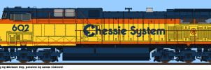 CSX Heritage AC6000CW by simulatortrain