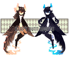 (set price: open!) harpy butts! by rexcorvis