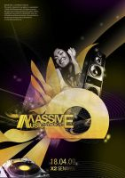 Masive Music Syndicate Poster by ronaldesign