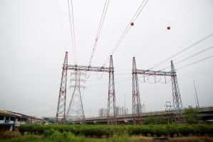 Malaysian Power Lines by TomFawls