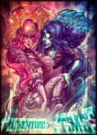 Bubblegum and Marceline by Rivan145th