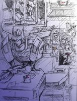 Doodle Roddy and Galvatron 2 by Aiuke