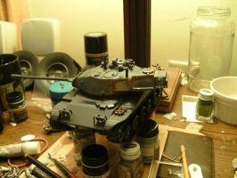 Turret weathering by DelosQAndrews