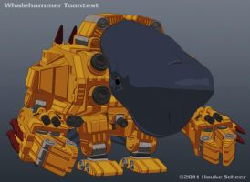 Whalehammer Toon Less Detail by hauke3000