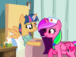 MLP Thank You, You will help me feel better by rainbowdash666666666