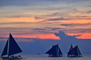 Sailboats by MFer-14