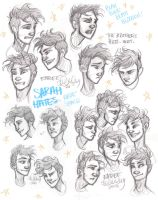 Enree Expressions Sheet by sawebee