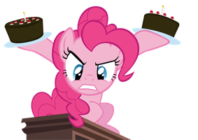 Pinkie's Portal Cakes by SpikesMustache