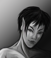 Random Vulcan female by Phoenix-Cry