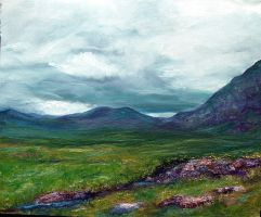 Cairngorms - highland view by Dandylia