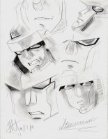 Starscream - armada sketches by MNS-Prime-21
