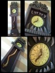 Haunted Mansion 13 Hour Clock by kam3153