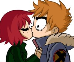 scott and kim in colour by absentflux