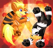 2006 - The Fire Dog Year by raizy