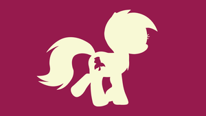 Minimal Roseluck Wallpaper [Series 5] by Mateo-theFox