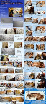 :Watercolor Tutorial: StepStep by GaruryKai